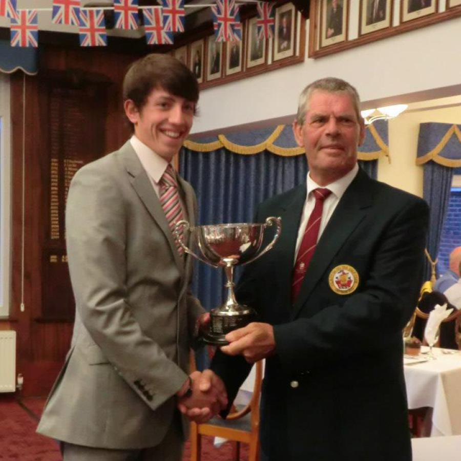 Jonthan Hewett Junior Champion 2012